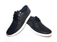 Кожаные туфли-кроссовки, модель LP.- ч