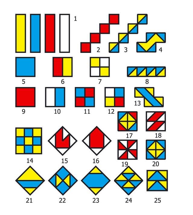картинки схемы для кубиков никитина