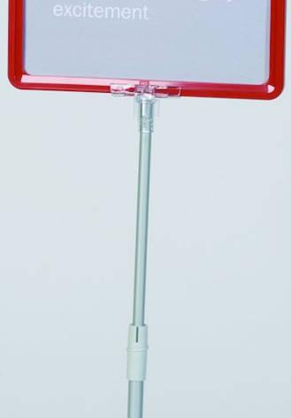Трубка телескопическая с держателем для рам 700-1500мм, фото 2