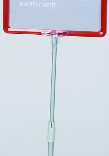 Трубка телескопическая с держателем для рам 950-1900мм