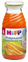 Натуральный морковный сок хипп hipp HIPP, 200мл