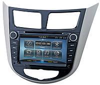 Штатная магнитола RoadRover Hyundai Accent, Solaris (Android)