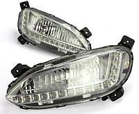 Штатные дневные ходовые огни DRL 1323 (Hyundai Santa Fe, ix45)
