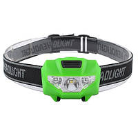 Налобний ліхтар Bailong T16/118 SMD + 2 LED світлодіодний ліхтар