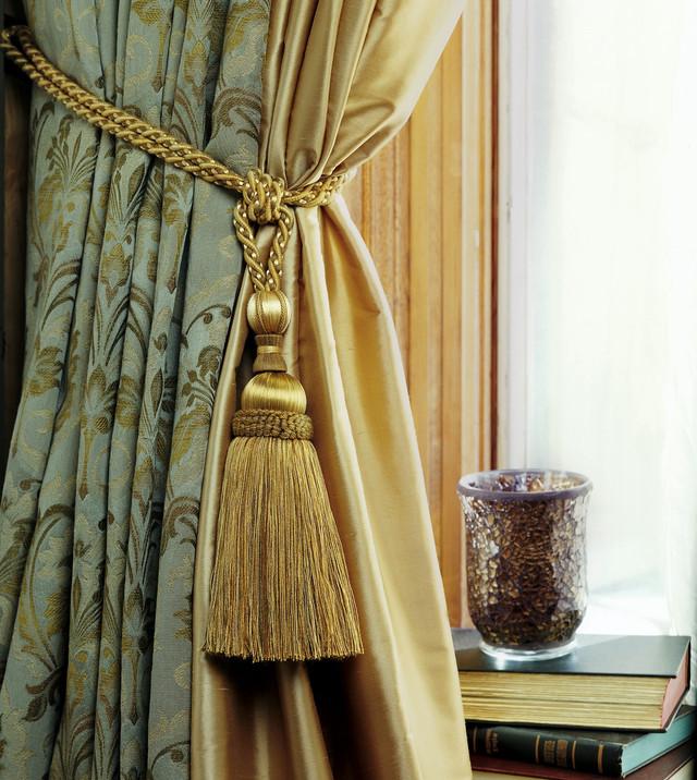 Правильный декор для штор. Купить ткань для штор. Выбираем басоны