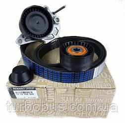 Комплект роликов и ремень генератора на Renault Trafic III 2014-> 1.6dCi - Renault (Оригинал) - 117209886R