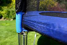 Батуты спортивные FunFit 435 см. защитная сетка и лесенка, фото 3