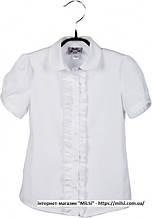 Блуза  BoGi 102,018,0278,02, 128-134 білий