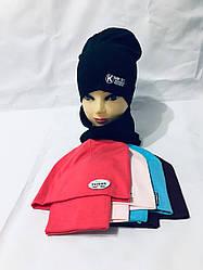 "Детская шапка +хомут  54-56 "" Fashion""   6385-85"