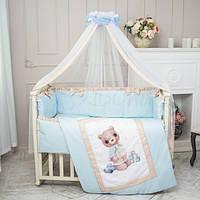 Комплект детского постельного белья  Мишка  мальчик