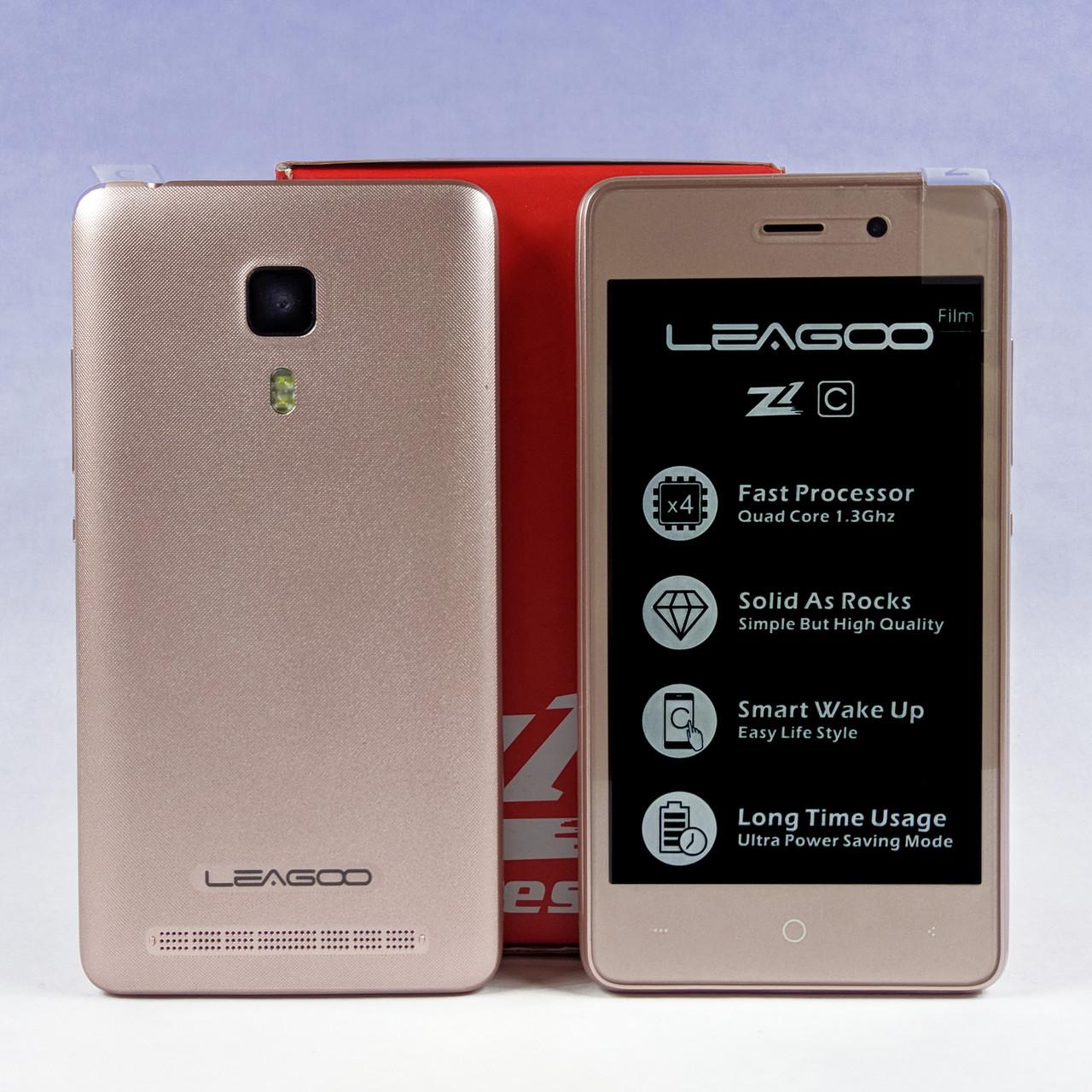 "Leagoo Z1C 4""   512/8Gb   4 ядра 1.3 ГГц   Android 6.0 + Бампер, науш."