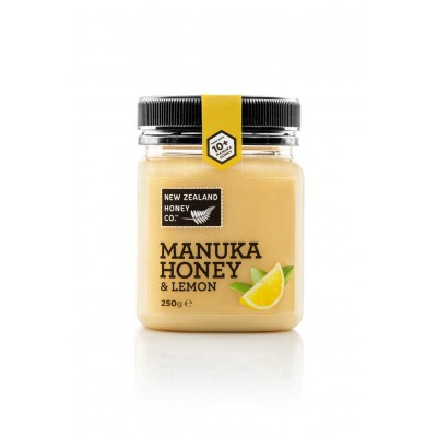 Мед Манука New Zealand Honey Co. 10+ с лимоном  (250г)