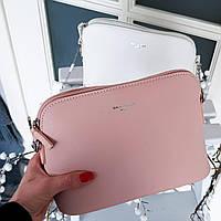 Сумочкa crossbody David Jones розового цвета Арт.01214, фото 1