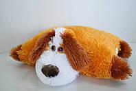 """Мягкая игрушка-подушка. Собака """"Дружок """" 37 х 50 медовый"""
