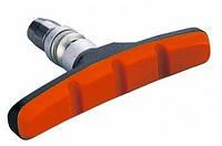 Колодки тормозные резьбовые черн-красн ALHONGA HJ-600.12T3G2-RD