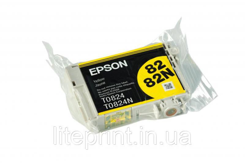 Оригинальный картридж Epson T0824, Yellow