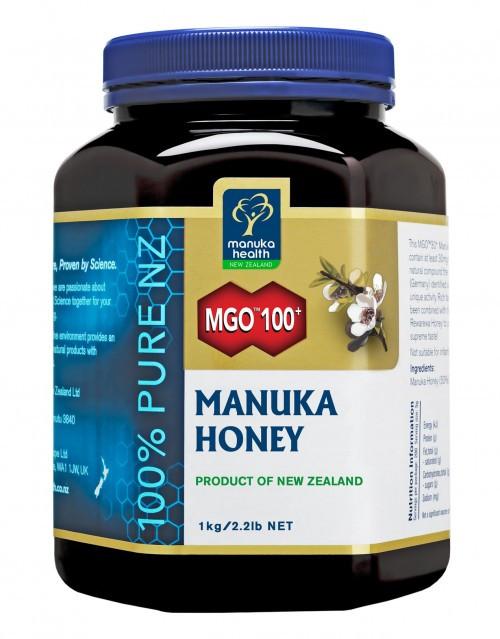 Мед Манука Manuka Health MGO 100+ (1кг)