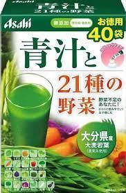 Asahi  Утренняя Сила зеленый сок из 21 вида овощей 3,3 гр. 40 пакетиков