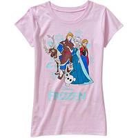 Футболка для девочки Disney Frozen; 4/5, 6/6X, 7/8 лет