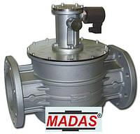 Электромагнитный клапан нормально открытый фланцевый Madas DN 300 500 mbar