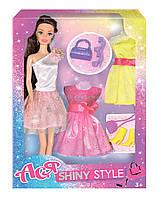 Кукла Ася Блестящий стиль; 28 см; брюнетка; вариант 2