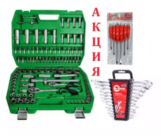 Набор инструментов 108 ед. ET-6108SP