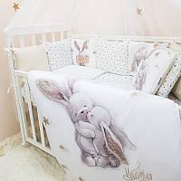 Комплект детского постельного Magic Зайка золото