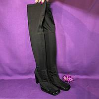 ee3105de4 Сапоги чулки ботфорты черные текстильные