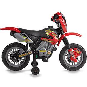 Мотоцикл электромобиль Motorbike Cross 400F Feber 11250, фото 2