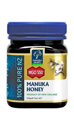 Мед Манука Manuka Health MGO 550+ (250г), фото 2