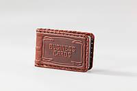 "Визитница кожаная ""Business cards"""