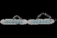 Гибкие дневные ходовые огни SKD-306, 6 светодиодов, 12V, фото 1