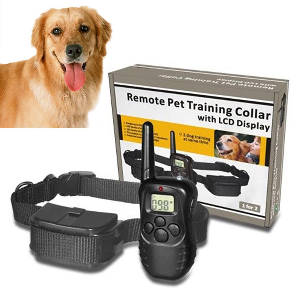 Электроошейник до 300 м Remote Pet Dog Training Collar со светодиодным светом и индикатором