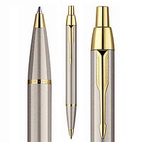 Ручка Parker IM шариковая с позолотой