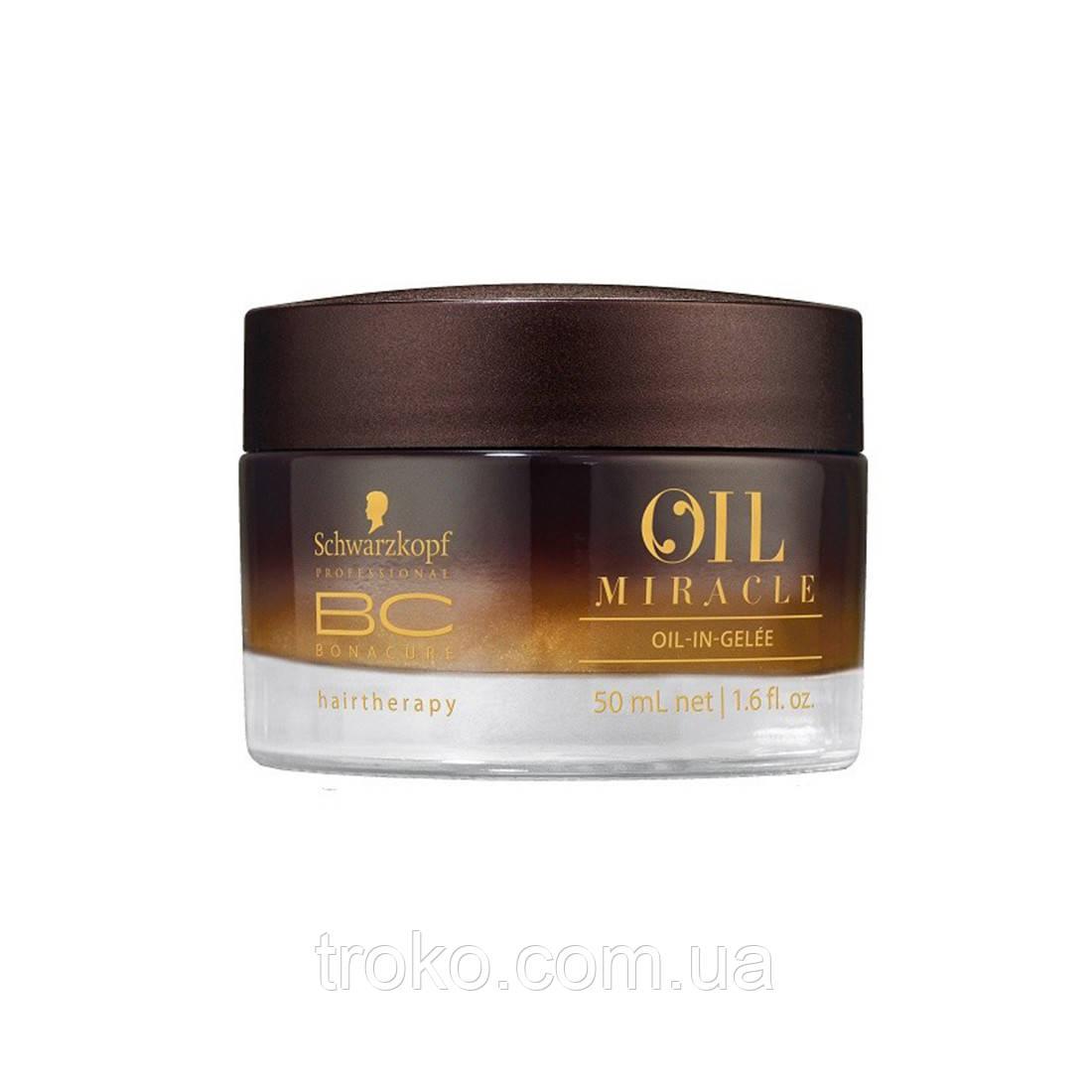 Schwarzkopf BC Oil-in-Gelee Масло-желе для финишного ухода и укладки волос, 50 мл