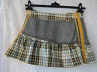 Юбка женская мини демисезонная теплая модная бренд Only р.40-42