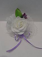 Бутоньерка для подружек невесты.