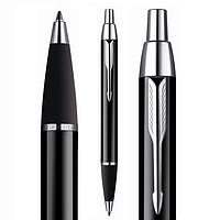 Ручка Parker IM шариковая чёрная с хромом