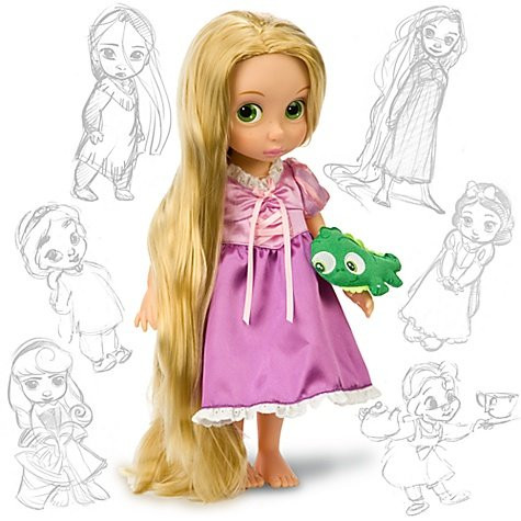 Disney Animators' Collection - Рапунцель (Disney - Rapunzel, кукла Рапунцель)