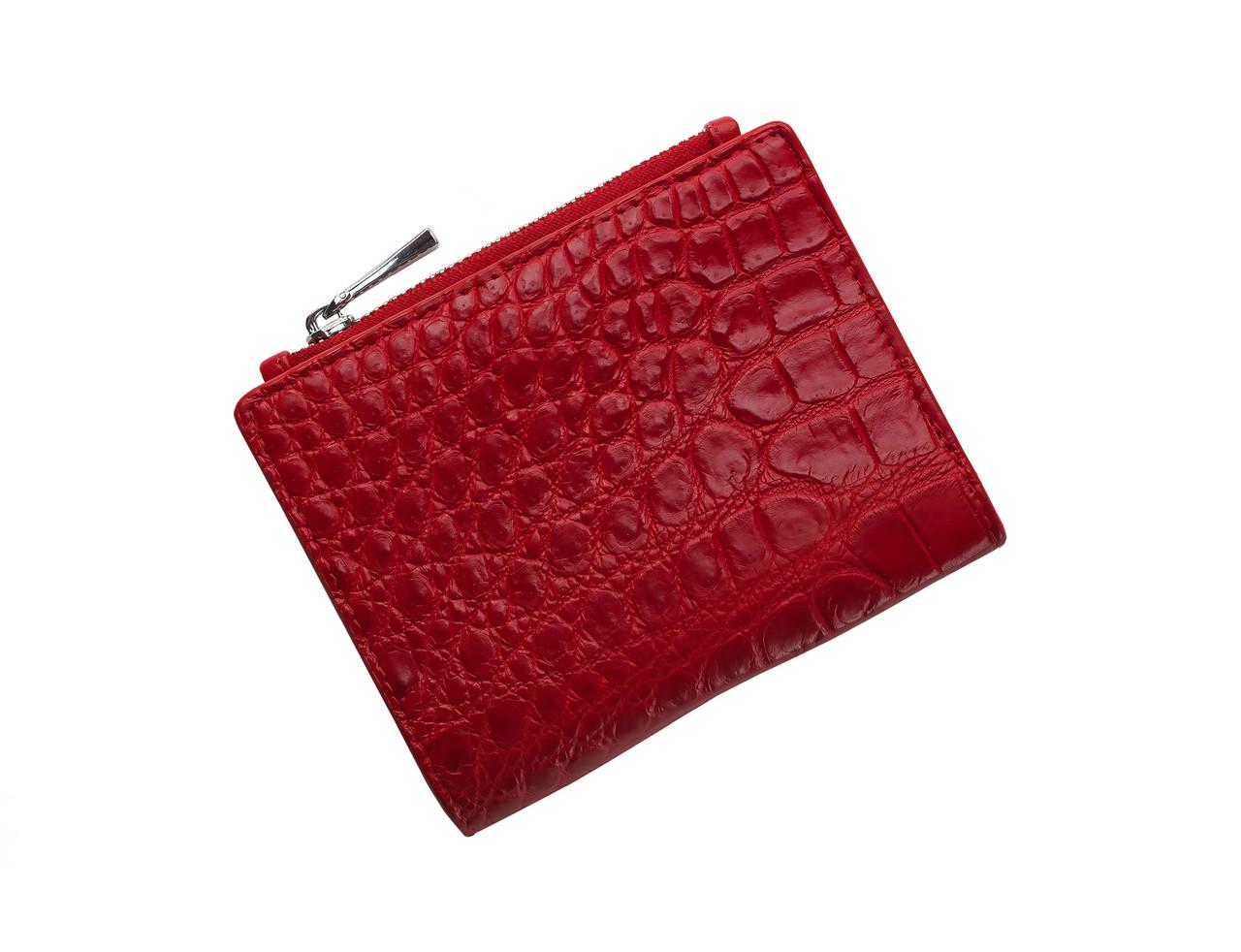 225852fd0e89 Кошелек из кожи крокодила Ekzotic Leather Красный (cw 96) - Интернет -  магазин изделий