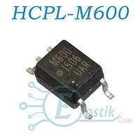 HCPL-M600, Оптопара, с цифровым выходом, SOP5