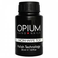 Топ без липкого слоя для гель- лака Opium, 30 мл