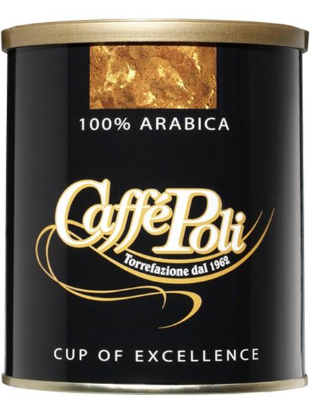 Мелена кава Caffe Poli 100% Arabica Ж\Б 250 гр