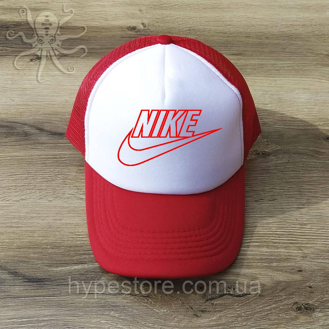 Мужская красная кепка-тракер, бейсболка Nike Air, Реплика