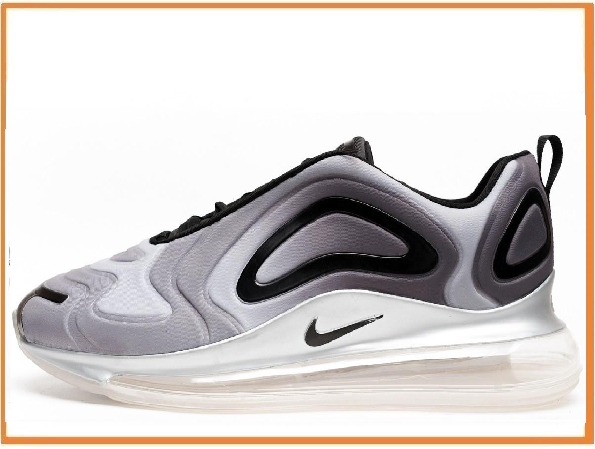 0d64e8a5 Мужские кроссовки Nike Air Max 720 Grey Blsck White (Найк Аир Макс 720,  серые