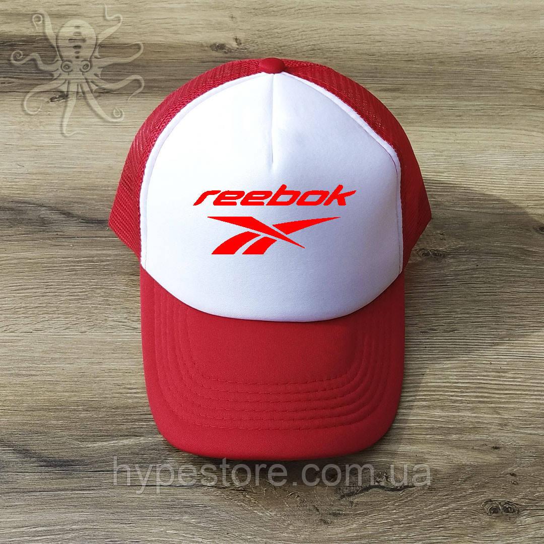 Мужская красная кепка-тракер, бейсболка Reebok, Реплика