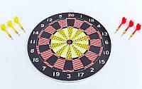 Мишень для игры в дартс из прессованной бумаги 43см BL-67325 Baili