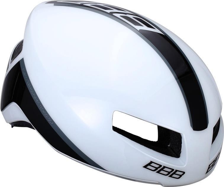 Шлем BBB BHE-08 Tithon глянцевый белый M (8716683089288)