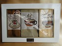 Набор вафельных полотенец Mercan 3шт: 50х70 Tурция