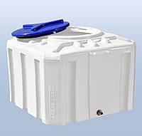 Емкость пластиковая квадратная однослойная Рото Европласт 200 литров